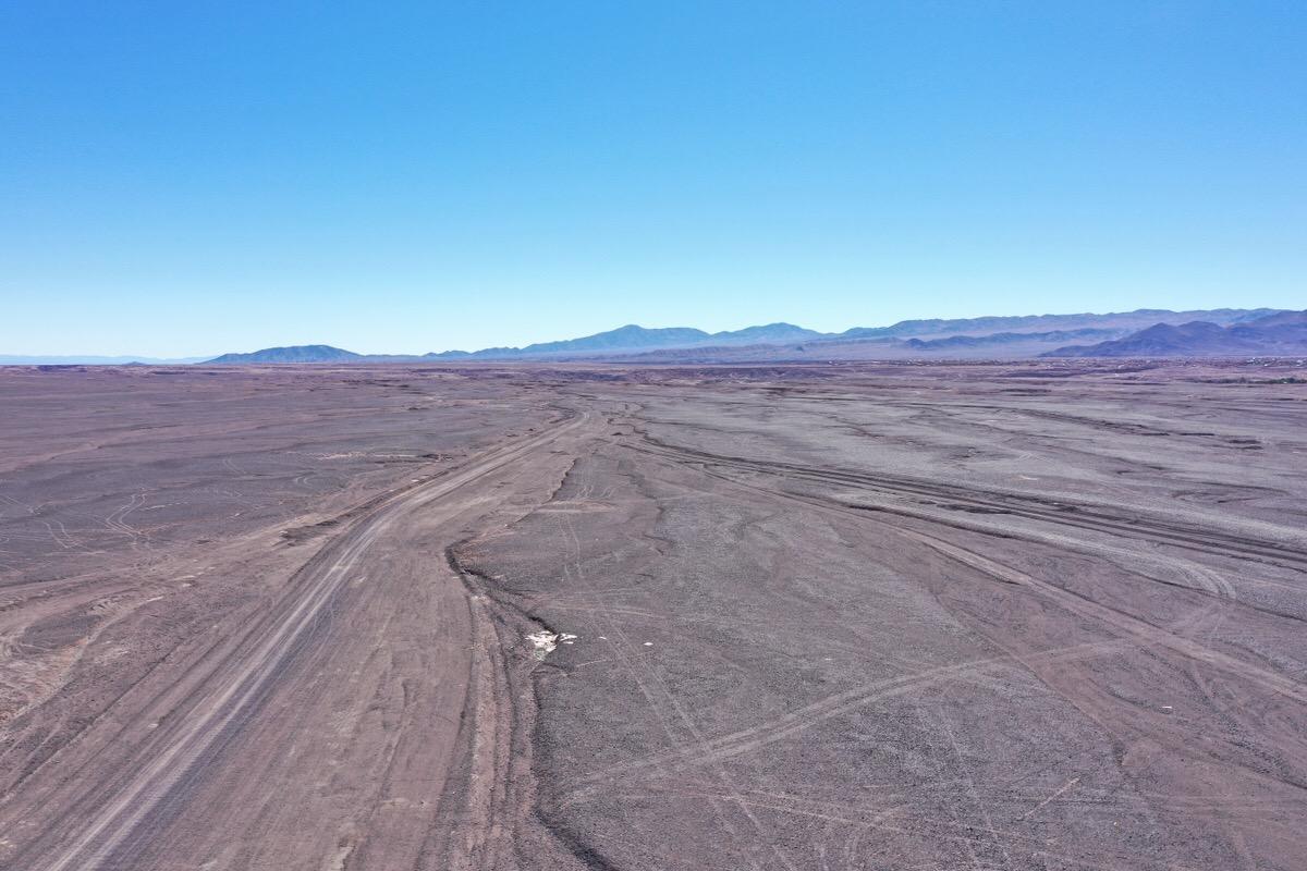 一面砂漠のチリ