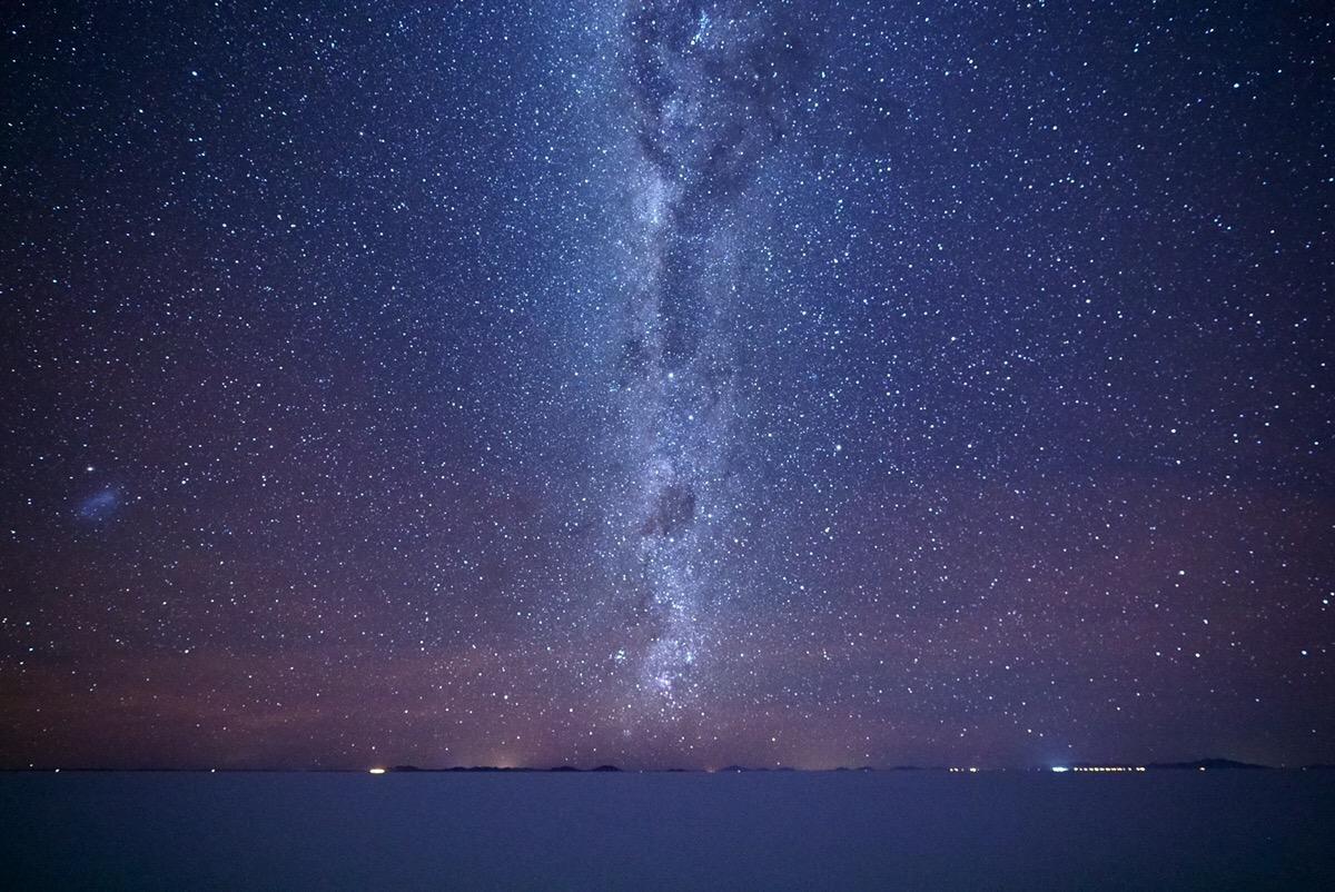 満点の夜空