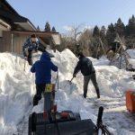 除雪ボランティア報告@秋田県大仙市大曲